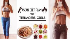 How to Lose Weight Fast for Teenagers Girls at Home | Asian Diet Plan to...