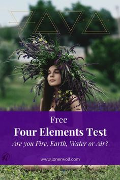 Blending psychology and spirituality, this test will help you to discover which elemental energy reflects your raw untamed self. The four elements test will also reveal your major strengths, weaknesses and ideal ways you can become a more balanced person. Shaman Ritual, Shaman Healing, Shaman Symbols, Element Quiz, Astrological Elements, Shaman Woman, Elemental Powers, Angel Guide, Taurus Woman