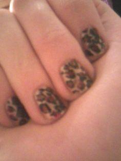 lepard nails :)