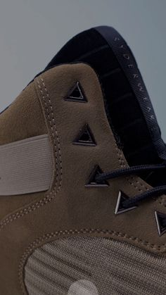 caaec54eb27558 D-Mak - lifting shoe now available in tan and charcoal. Thin