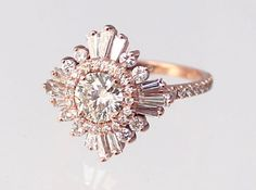 The original gatsby by Heidi Gibson. Gorgeous. I covet so damn hard. Bloody hell, I want this ring.