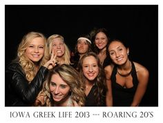 Iowa Greek Life - Roaring 20s  Photo By Courtney Cook Photography