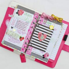 Planners Ideas and Accessories Bits and Pieces...: Color Crush Love