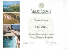 Julie is a Velas Resorts Expert! #VelaResorts