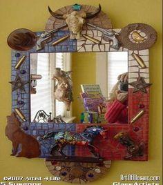 mexican mosaic mirrors | mosaic mirrors