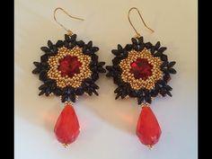 Orecchini Flamenco (DIY - Flamenco Earrings) - YouTube