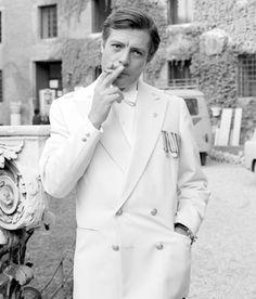 Marcello Mastroianni a Vicenza nel 1957