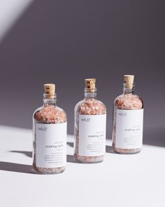 Our Soaking Salts complete the bathing experience by offering a soothing aromatherapy ritual. Alongside the himalayan salts, the eucalyptus assists L Eucalyptus, Eucalyptus Essential Oil, Essential Oils, Bath Soak, Organic Soap, Beauty Packaging, Packaging Design Inspiration, Natural Cosmetics, Body Care