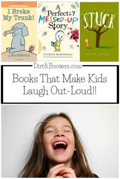 Books That Will Make Your Child Laugh Out-Loud! ~ I love funny children's books that make kids roar with laughter! Funny Books For Kids, Funny Kids, Preschool Books, Book Activities, Indoor Activities, Kids Reading, Teaching Reading, Reading Lists, Reading Resources