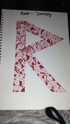Raido - Journey (R) Norse Rune