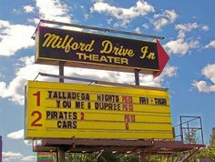 The Milford Drive-in - one of the last in NH You Me And Dupree, Summer 2015, Summer Fun, Nh 2, Talladega Nights, Granite State, Drive In Movie Theater, Happy 50th, All Things New