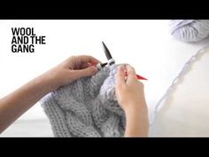 How To Knit Cables - YouTube