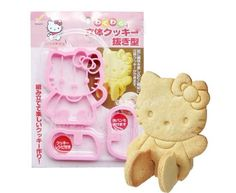 Who doesn't love a good cookie? Be it a birthday party, or just dessert after dinner, a good ol' cookie is all it takes to raise your spirits. And, what if this cookie was in the shape of the cutest cat we have ever seen, Hello Kitty! The 3D Hello Kitty Cookie Cutter Mold is like no other. Not only do you get the most adorable looking Hello Kitty cookie, but also she actually sits up! This is possible as this cookie mold is a DIY model of sorts.