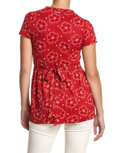 Summer Garden Shirt - red | napo-shop.de