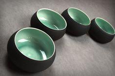 Bols porcelaine Vert/Noir — Tristan Philippe 60€ \ 67$
