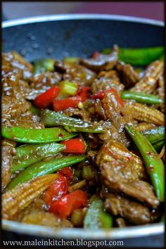 I kolejna odsłona przepysznej wołowiny w sosie ostrygowym stir fry :) Przepis znajdziecie na blogu Michała, zapraszamy :)