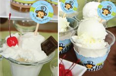 Summer Party Ideas for Kids #BirthdayPartyDecorations #SummerPartyIdeas #IceCreamBuffet
