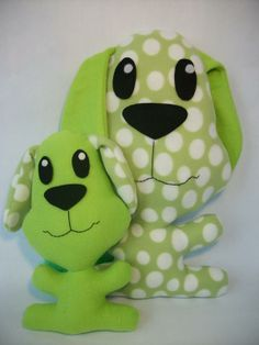 Jumbo Head Puppies ... by SewCute Pattern | Sewing Pattern