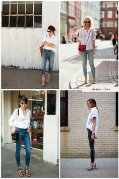 how to wear a white button down