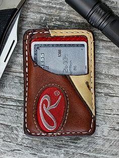 Vvault Wallet Built From Vintage Baseball Gloves-Vvego http://www.vvego.com/product/limited-edition-vvault-front-pocket-wallet-built-from-vintage-baseball-gloves/