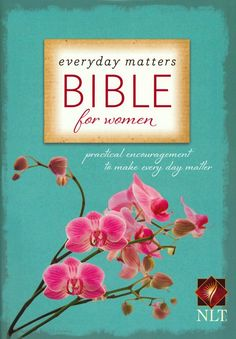 """Everyday Matters Bible for Women"" review at I Choose Joy! :  This is a great Bible--if you're looking for a new one.  Has features to help you work on 24 different spiritual disciplines."