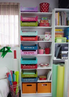 organizing material, tools, craft, supplies, stationery organizar material, papelería, herramientas