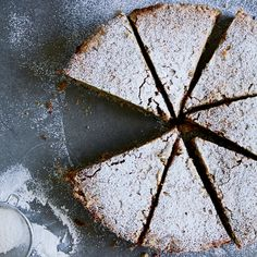 This easy cake from star chef Rick Bayless gets Mexican flair from tequila, Mexican chocolate and pepitas.