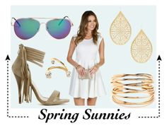 """""""Spring Sunnies"""" by windsorstore ❤ liked on Polyvore featuring mirrormirror"""