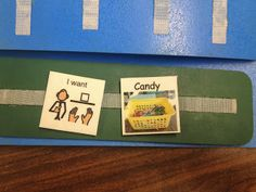 Using real life photos to simplify PECS in the classroom!