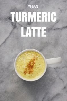 This vegan turmeric latte is a magical elixir that will calm your mind and nourish your body! Make it a part of your afternoon ritual! Healthy Indian Recipes, Healthy Gluten Free Recipes, Delicious Vegan Recipes, Healthy Breakfast Recipes, Healthy Snacks, Tea Recipes, Whole Food Recipes, Drink Recipes, Healthy Smoothies