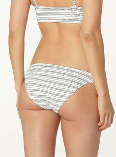 Womens **Vero Moda Stripe Bikini Bottoms- Multi Colour