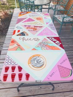 Best Indoor Garden Ideas for 2020 - Modern Beer Table, Beer Pong Tables, Ping Pong Table, Diy Table, Cooler Painting, Diy Painting, Summer Crafts, Summer Fun, Babe Cave