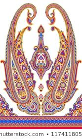 Explore high-quality, royalty-free stock images and photos by NAVINBHAI BABUBHAI PATEL available for purchase at Shutterstock. Paisley Wallpaper, Paisley Art, Flower Wallpaper, Paisley Pattern, Embroidery Neck Designs, Embroidery Works, Gold Embroidery, Borders And Frames, Border Design