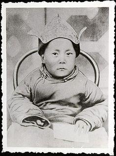 Le 14ième Dalaï Lama - jeune enfant ...