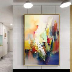 Abstract painting on canvas gold art Original acrylic wall art pictures for living room home wall decor thick texture orange blue decoration Abstract Painting Easy, Lion Painting, Abstract Canvas Wall Art, Acrylic Wall Art, Oil Painting On Canvas, Acrylic Canvas, Abstract Paintings, Indian Paintings, Art Paintings