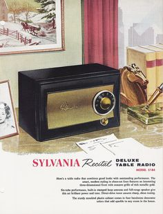 Sylvania radio ad