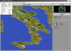 Image and more screenshots of the abandonware DOS game Civilization 2 Retro Games, Video Game Art, Gaming Computer, Civilization, Drawings, Image, Sketches, Drawing, Portrait