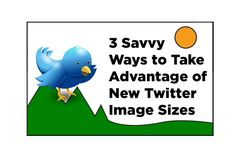 6 Savvy Ways to Take Advantage of New #Twitter Image Sizes | by @DMBoutin |  #VisualContent #TwitterTips | by David Boutin for Social Quant