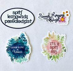 You Choose 4 Speech Language Pathologist Stickers 4 Sticker Bundle