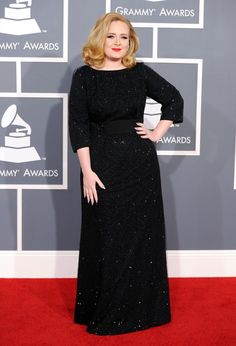 Adele - The 54th Annual GRAMMY Awards - Arrivals