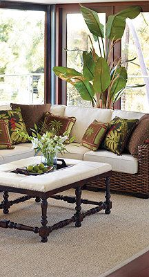 Bombay woven furniture...tht would look beautiful in the four seasons room