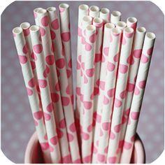 polka dot straws // $8 for 50