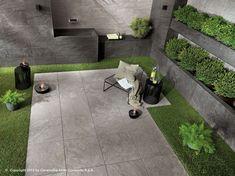 BRAVE FLOOR Porcelain stoneware outdoor floor tiles Brave Collection by Atlas Concorde