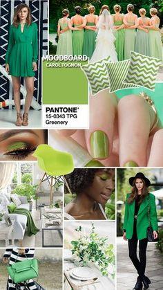 Greenery: Obviamente que a cor não é só para moda, ela pode ser usada em vários sentidos: móveis, decoração de casa, casamento, maquiagem, alguma arte gráfica e no nosso caso, o que tanto amamos falar aqui que são os looks. Montei um moodboard de inspirações nesta cor pra gente se inspirar!
