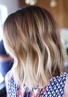 Fall/Winter Hair Color Ideas for Medium Hairstyles 2017 - 2018