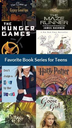 Favorite Book Series for Young Adults #books #teens