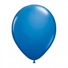 Metallic Ballonnen 10st Donkerblauw
