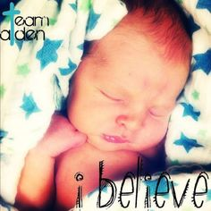 Find them in Facebook: 50 for Aiden  Read his story, share his story....pray for this sweet baby boy!!  PRAY, PRAY, PRAY!!  Breathe Baby Aiden, Breathe!!