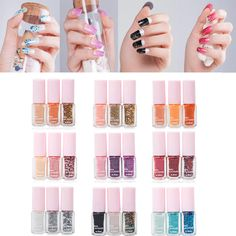 Nail Polish 3PCS/ lot Maxdona Nail Polish 3 Color Gradient Cocktail Magic Nail Gel #>=#>=#>=#>=#> Click on the pin to check out discount price, color, size, shipping, etc. Save and like it!
