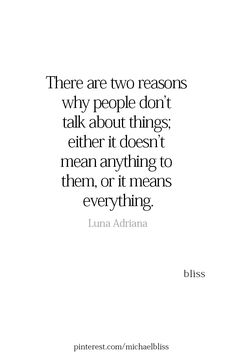 This makes so much sense.it doesnt mean anything to her and it means everything to me so we never talked about it. True Quotes, Great Quotes, Words Quotes, Wise Words, Quotes To Live By, Motivational Quotes, Inspirational Quotes, Bliss Quotes, Cool Words